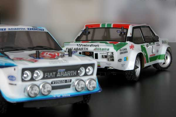 Fiat 131 Abarth the Rally legends