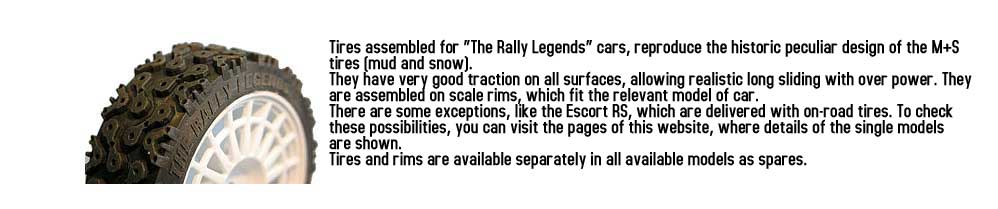 THE RALLY LEGENDS BY ITALTRADING ITALY