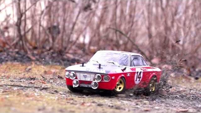 lancia Fulvia HF Montecarlo 1972 The Rally Legends by Italtrading Italy