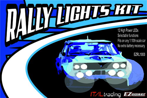 The Rally Legends led light kit