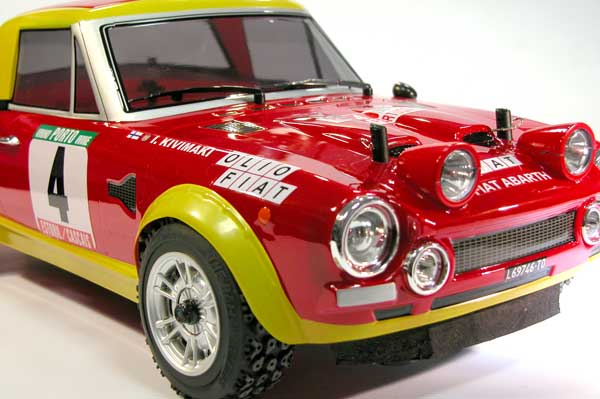 Fiat 124 Abarth The Rally Legends