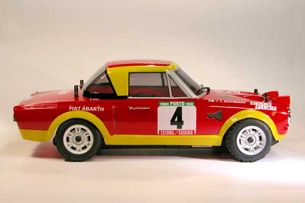The Rally Legends by Italtrading Fiat 124 Abarth